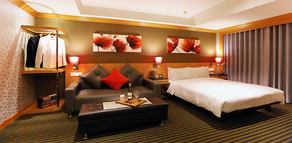 昇美精品旅店 - 商務大床房